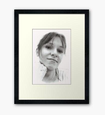 """Ellen"" Framed Print"