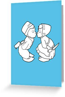 Kissing Dutch Kids by DrifterThreads