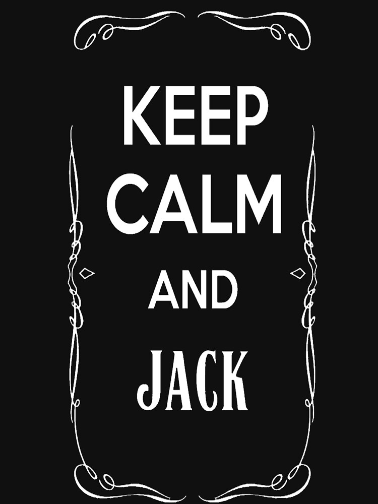 Keep Calm and Jack by tifouille