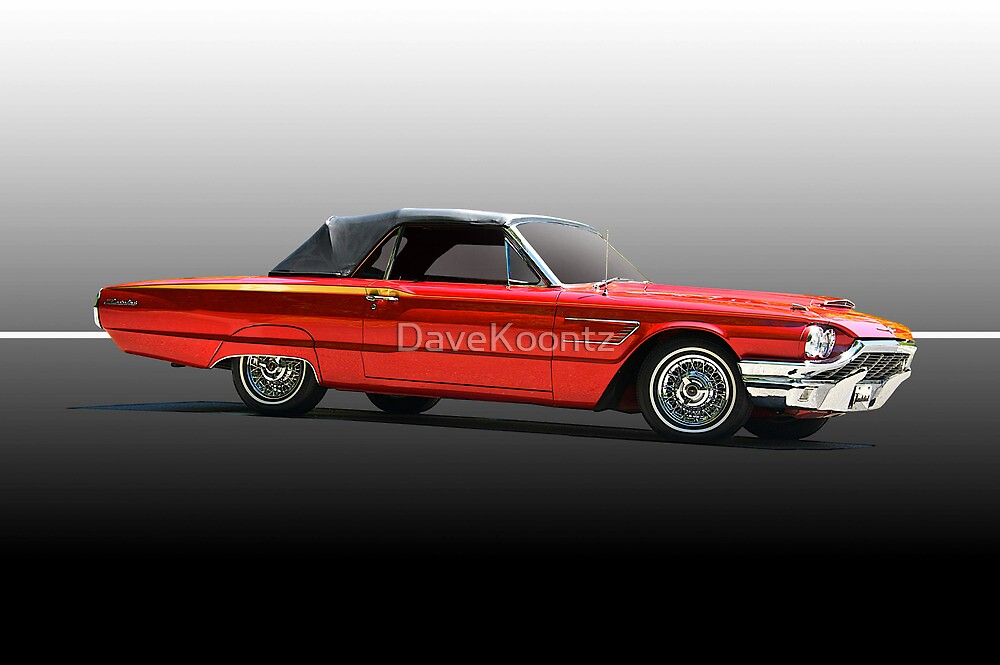 1965 Ford Thunderbird Convertible by DaveKoontz