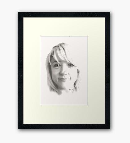 """""""Sadie"""" Framed Print"""