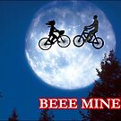 Beee Mine Valentine Card by Blackbird76