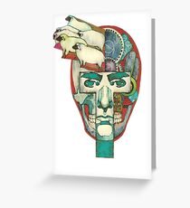 Do Androids Dream of Electric Sheep? Greeting Card