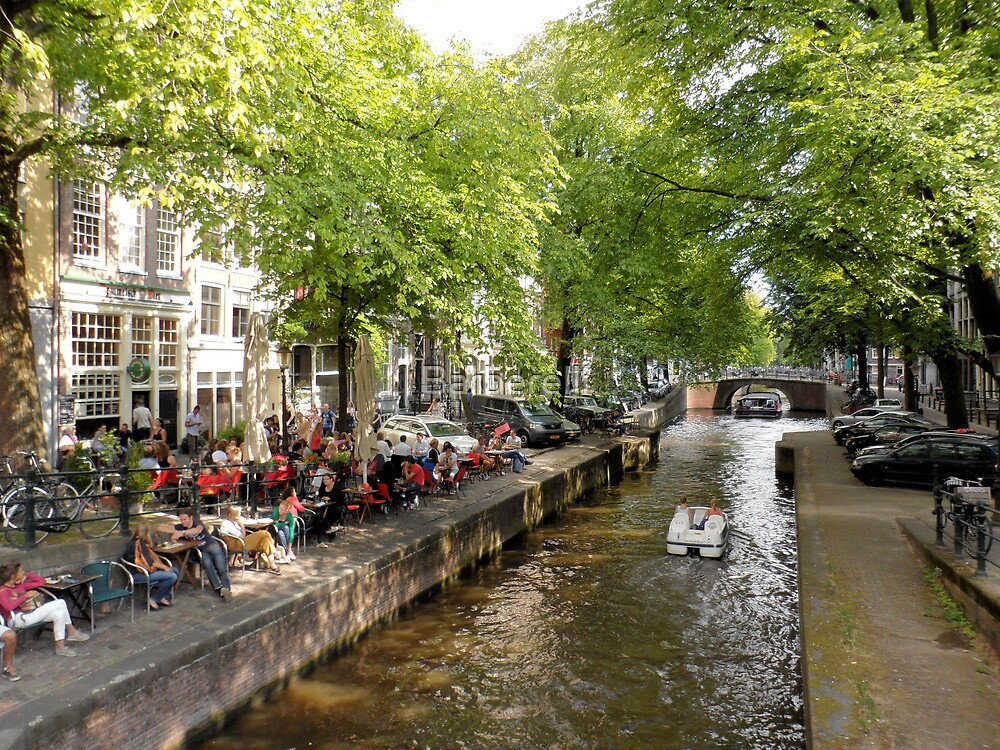 Amsterdam Canal by Barberelli