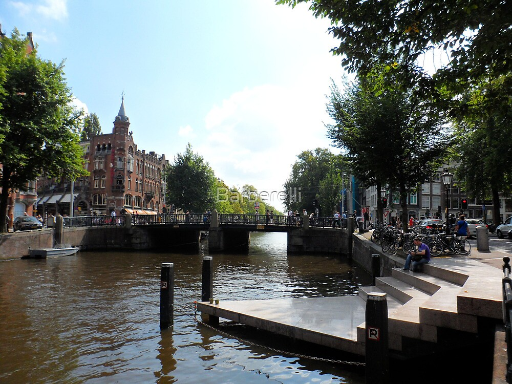 Amsterdam Canal 2 by Barberelli