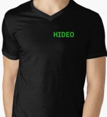Hideo - Metal Gear Solid Men's V-Neck T-Shirt