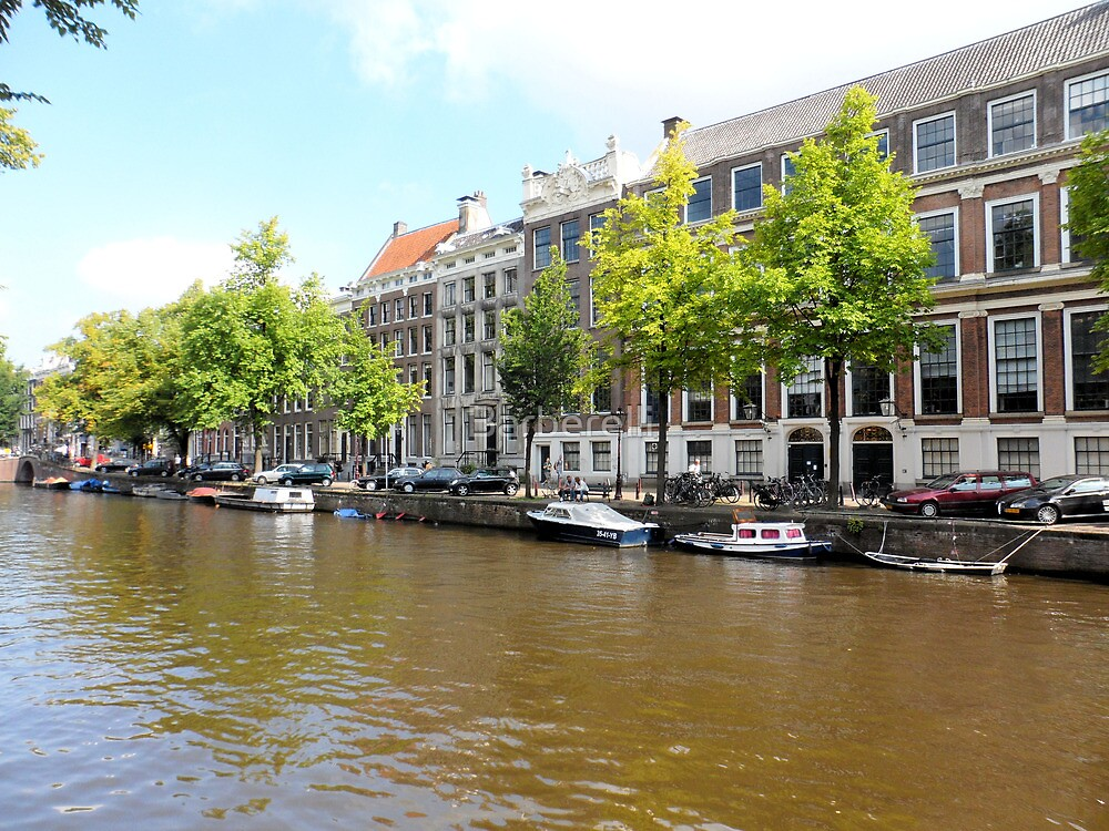 Amsterdam Canal 3 by Barberelli