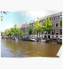 Amsterdam Canal 3 Poster