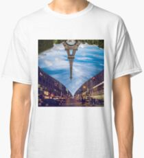 Paris New York Digital Art  Classic T-Shirt