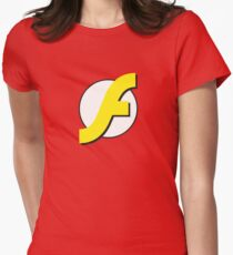 It Runs Like a Flash on DDR4 Women's Fitted T-Shirt