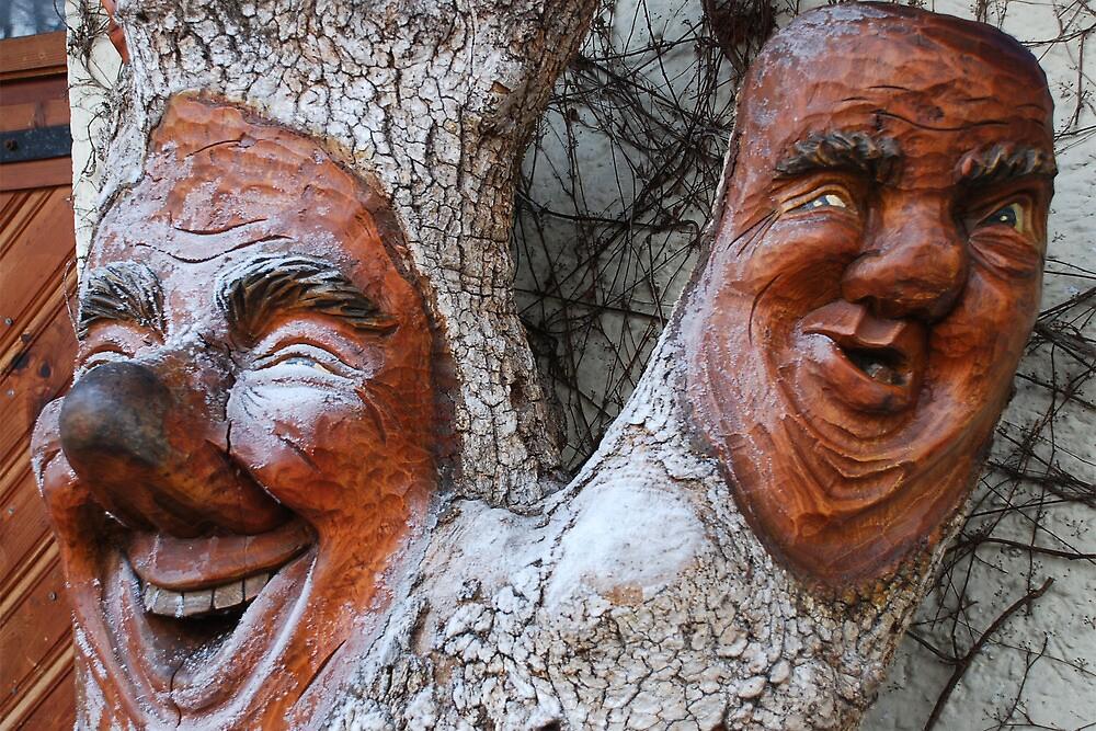 Laughing tree by Arie Koene