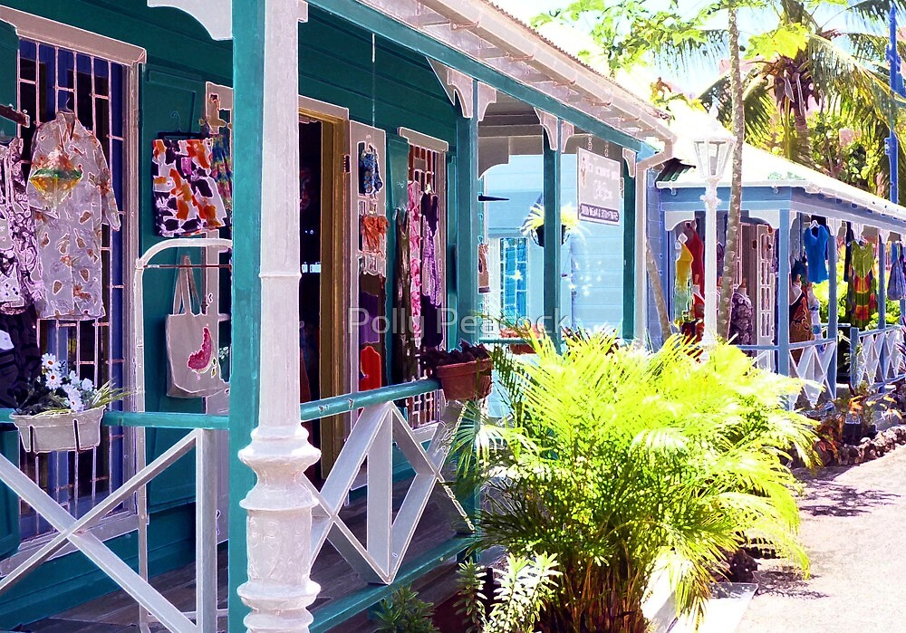 Chattel Shops of Barbados by Polly Peacock