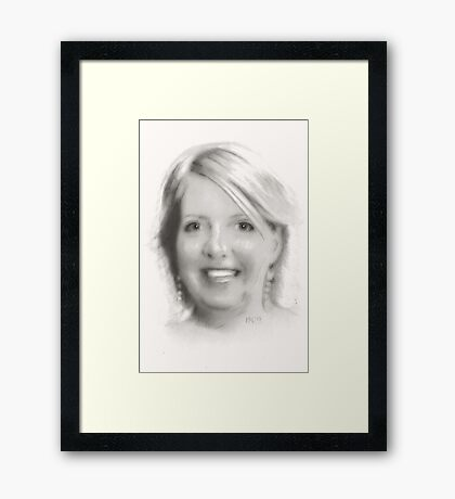 """Carolyn"" Framed Print"
