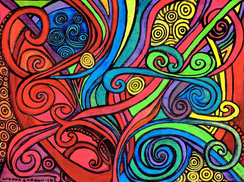 bright swirls by AndreaGordon