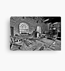 Locomotive Shed (HDR) Canvas Print