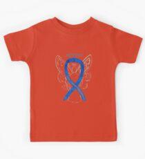 Colon Cancer Ribbon  Kids Tee