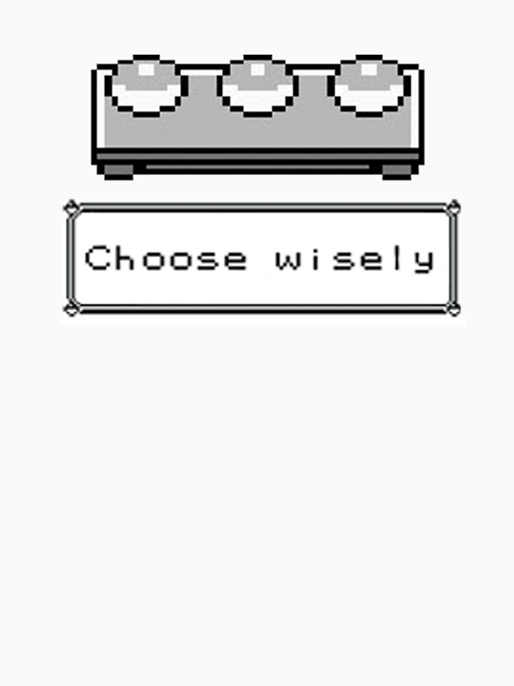 Choose Wisely by zchamar