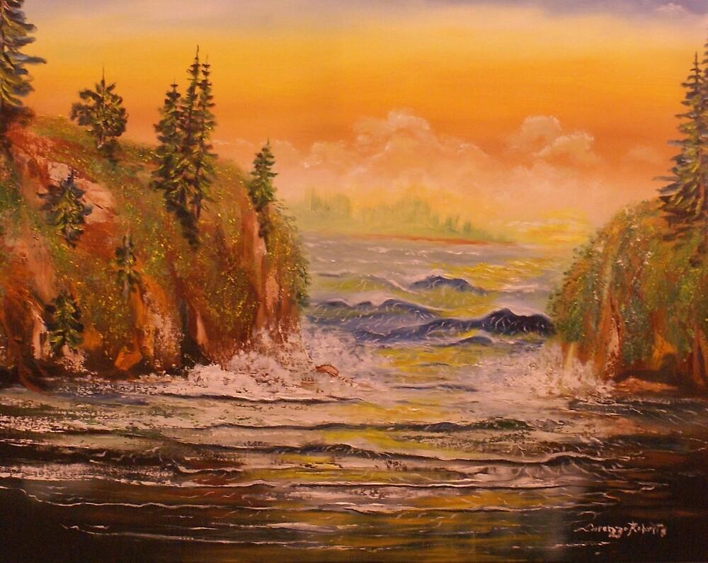 low tide  by rockhardart