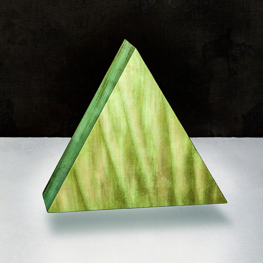 Green Triangle 3D by YoPedro