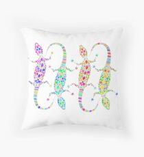 Lizards  Throw Pillow
