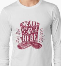 Mad Cat's Hat  Long Sleeve T-Shirt