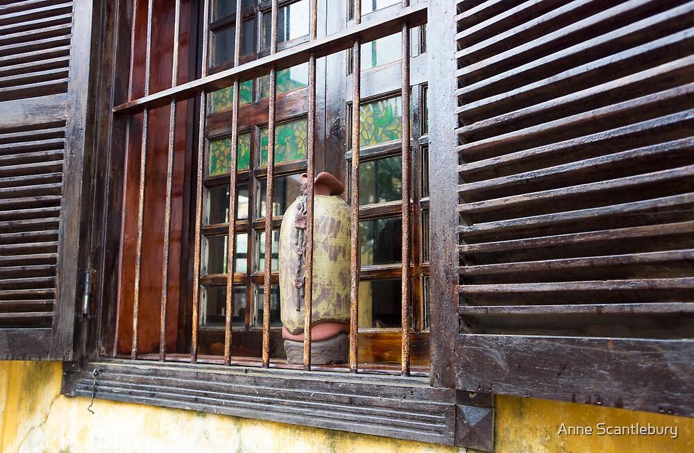 brown window by Anne Scantlebury