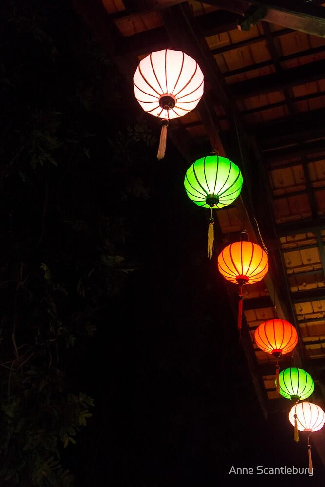 six lanterns by Anne Scantlebury