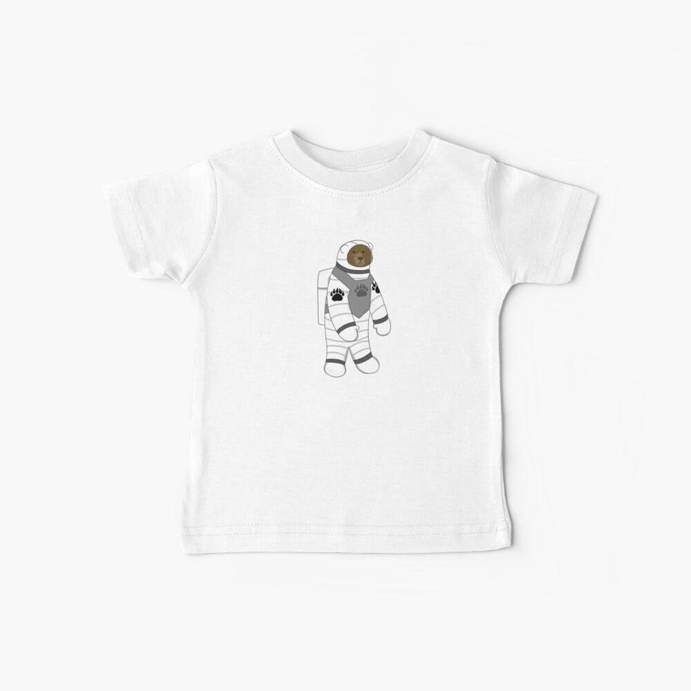 Astronaut bear  Baby T-Shirt