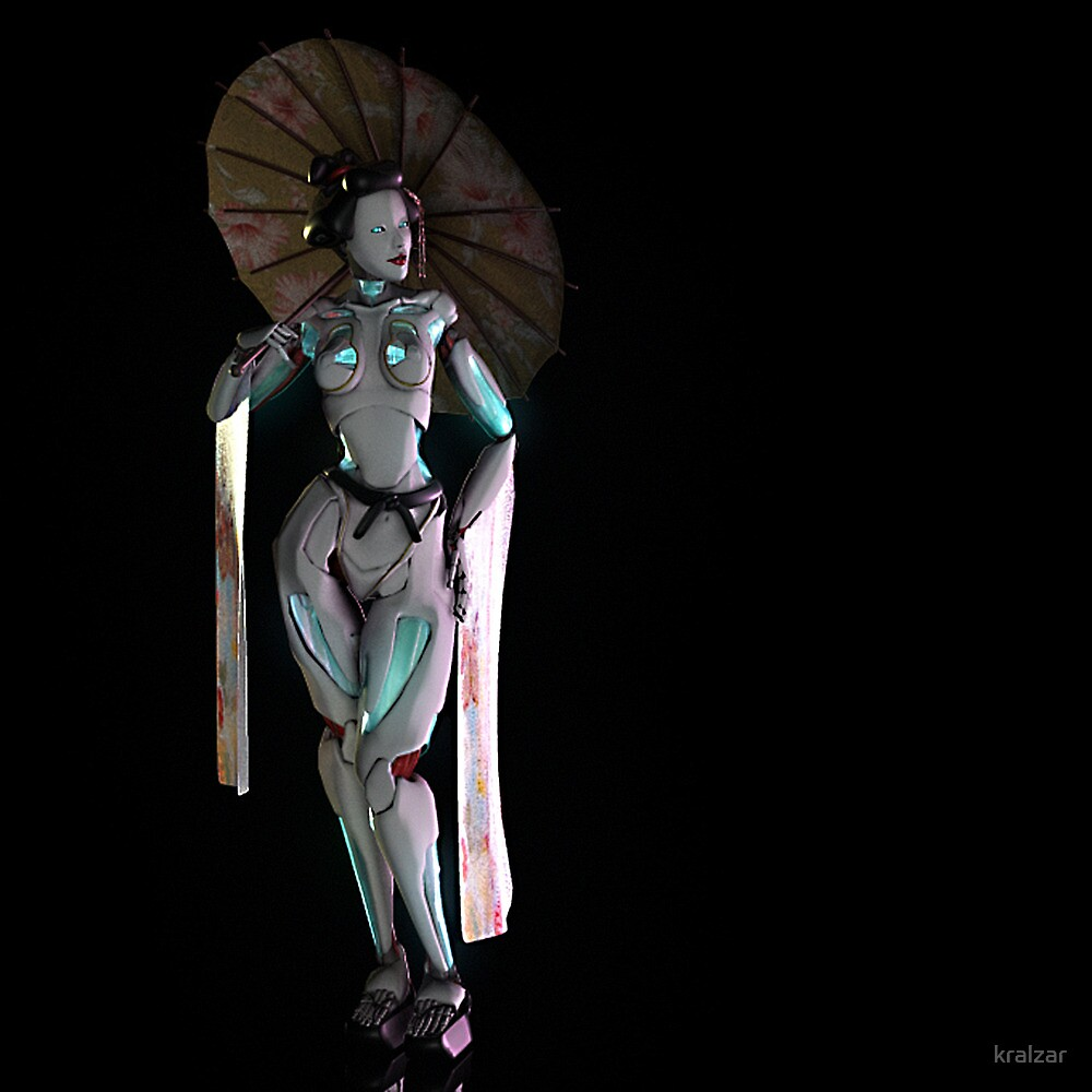Robotic Geisha by kralzar
