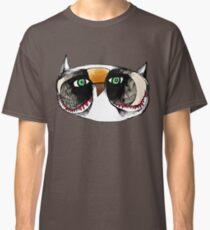 The Owl with Green Eyeballs Classic T-Shirt