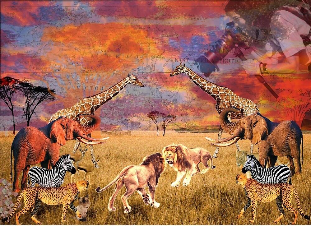 The Lion's Kingdom by alexiamckay