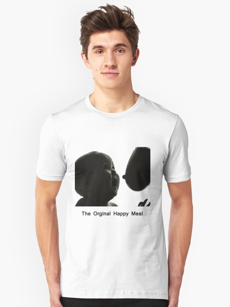 The Orginal Happy Meal Unisex T-Shirt Front