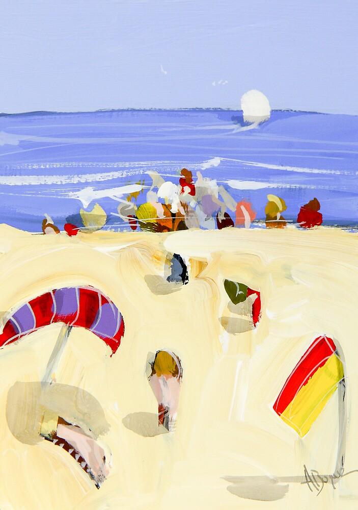 By the beach by Adam Bogusz