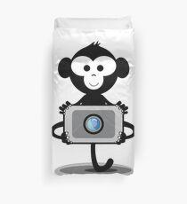 Monkey Photograpy Duvet Cover