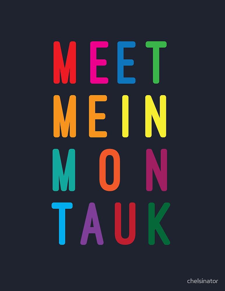Meet Me in Montauk by chelsinator