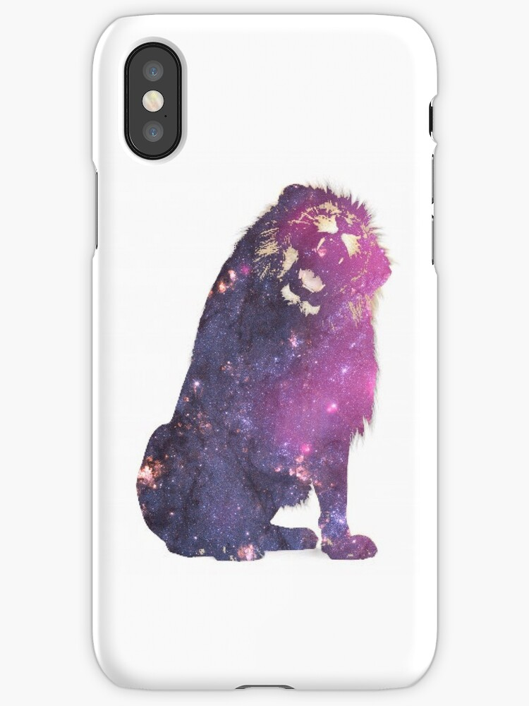 Cosmic Lion Case by borntokill