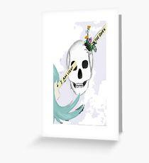optimism flourishes Greeting Card