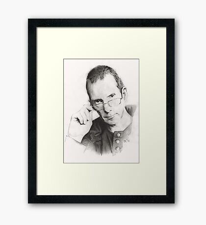"""Self Portrait"" Framed Print"