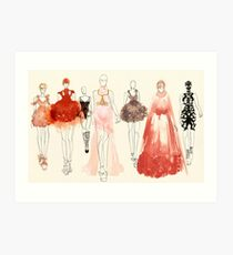 Alexander McQueen - 2013 Favorites Art Print