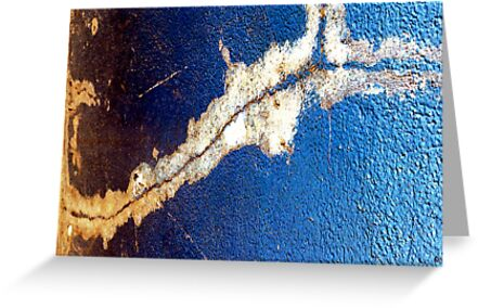 A CLOSER NY - BLUE CRACK by Sherry Mills