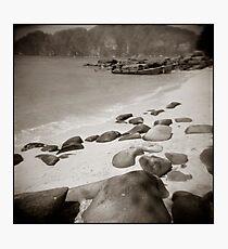{ sand + salt } Photographic Print