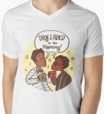 Troy and Abed in the Morning! Men's V-Neck T-Shirt