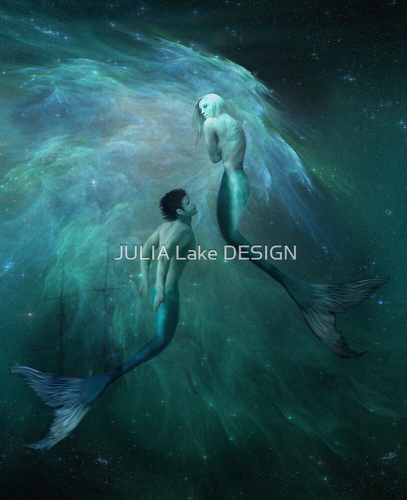 Mysterious Mermaid by JULIA Lake DESIGN