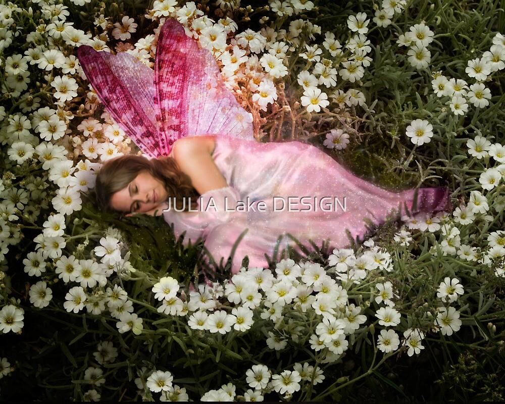 Sleeping Fairy by JULIA Lake DESIGN