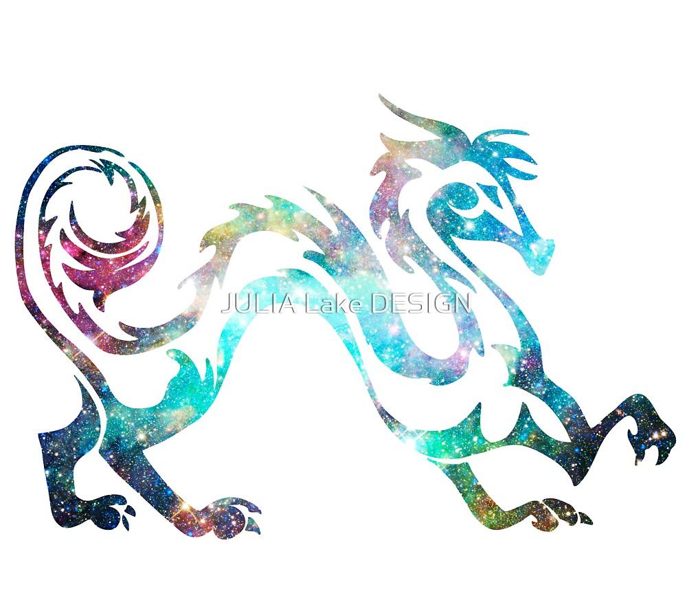 Dragon Zodiac Color by JULIA Lake DESIGN