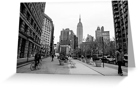 New York City streetscape by DebWinfield