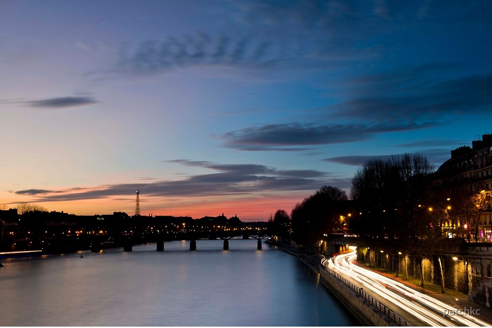 Parisian sunset by patchkc