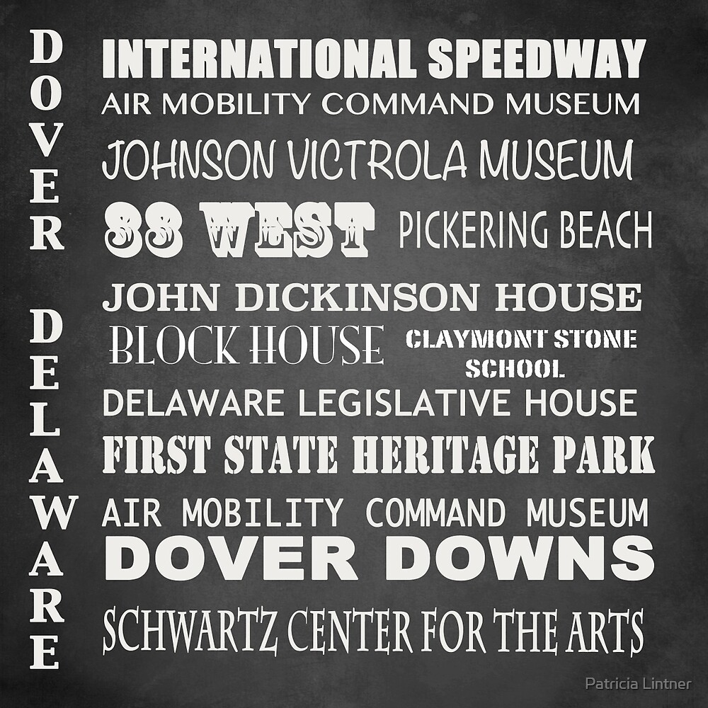 Dover Famous Landmarks by Patricia Lintner