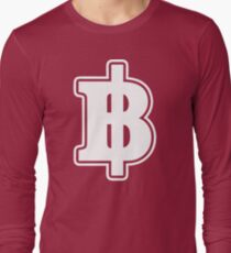 BAHT SIGN ฿ Thai Money Currency ฿ T-Shirt