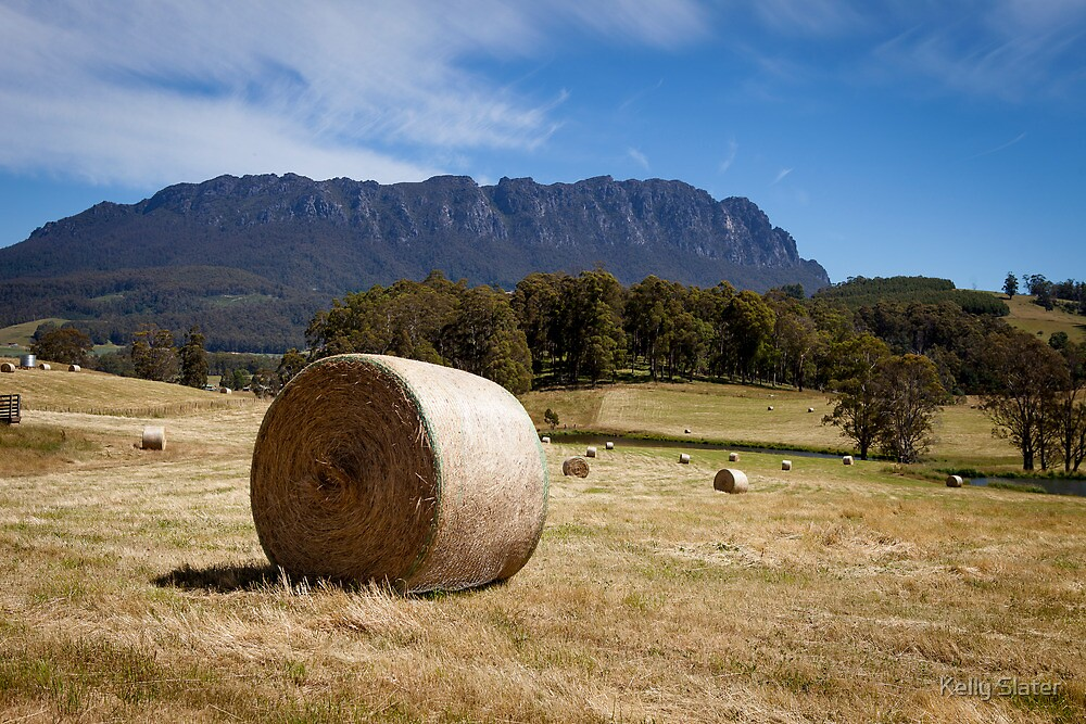 Tasmania's Mount Roland by Kelly Slater